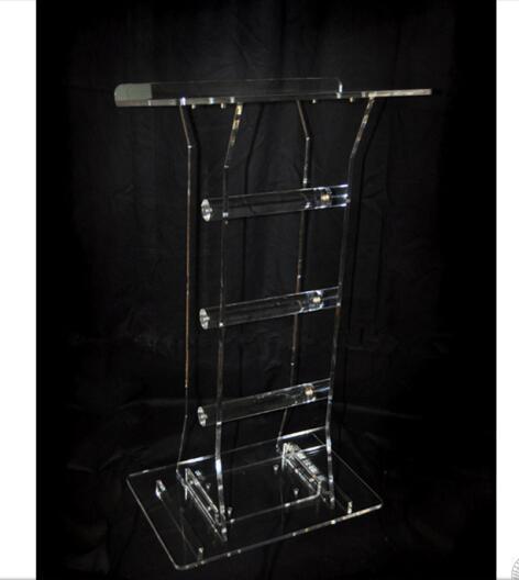 Customized Acrylic Lectern Crystal Podium/pulpit Plexiglass