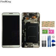 TFT Incell LCD Display For Samsung Galaxy Note 3 N900 N9005 N900A N900V LCD Display+Frame  Touch Screen Digitizer Assembly Tools