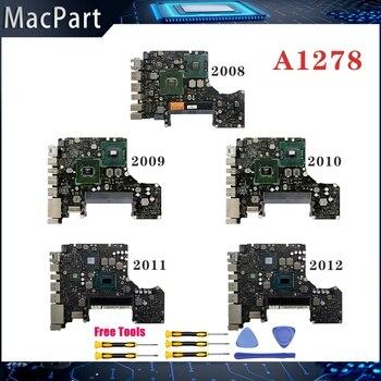 Original testado a1278 placa-mãe para macbook pro 13