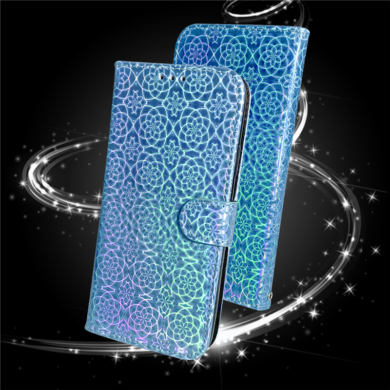 Gradient Colorful PU Leather Case for iPhone 11/11 Pro/11 Pro Max 7