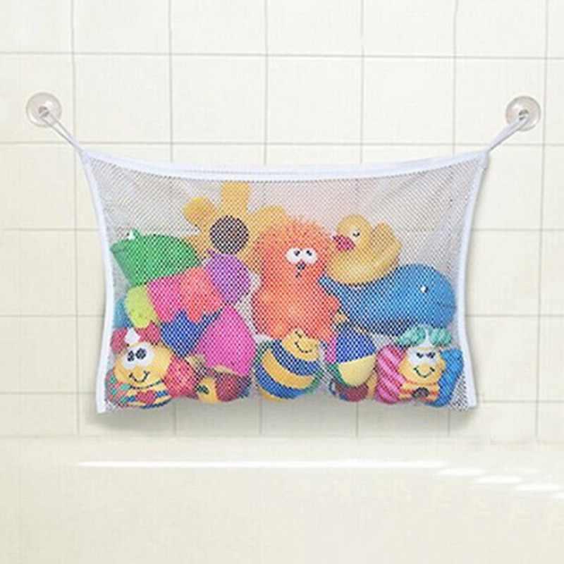 Kreative Baby Spielzeug Mesh Lagerung Bag Bad Badewanne Puppe Organizer Saug Bad Zeug Net Lagerung Tasche Sammlung Box Für Kind