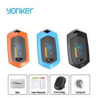 Yonker médical famille sport doigt oxymètre de pouls Saturation en oxygène du sang SPO2 Rechargeable pédiatrique oxymètre de pouls en plein air