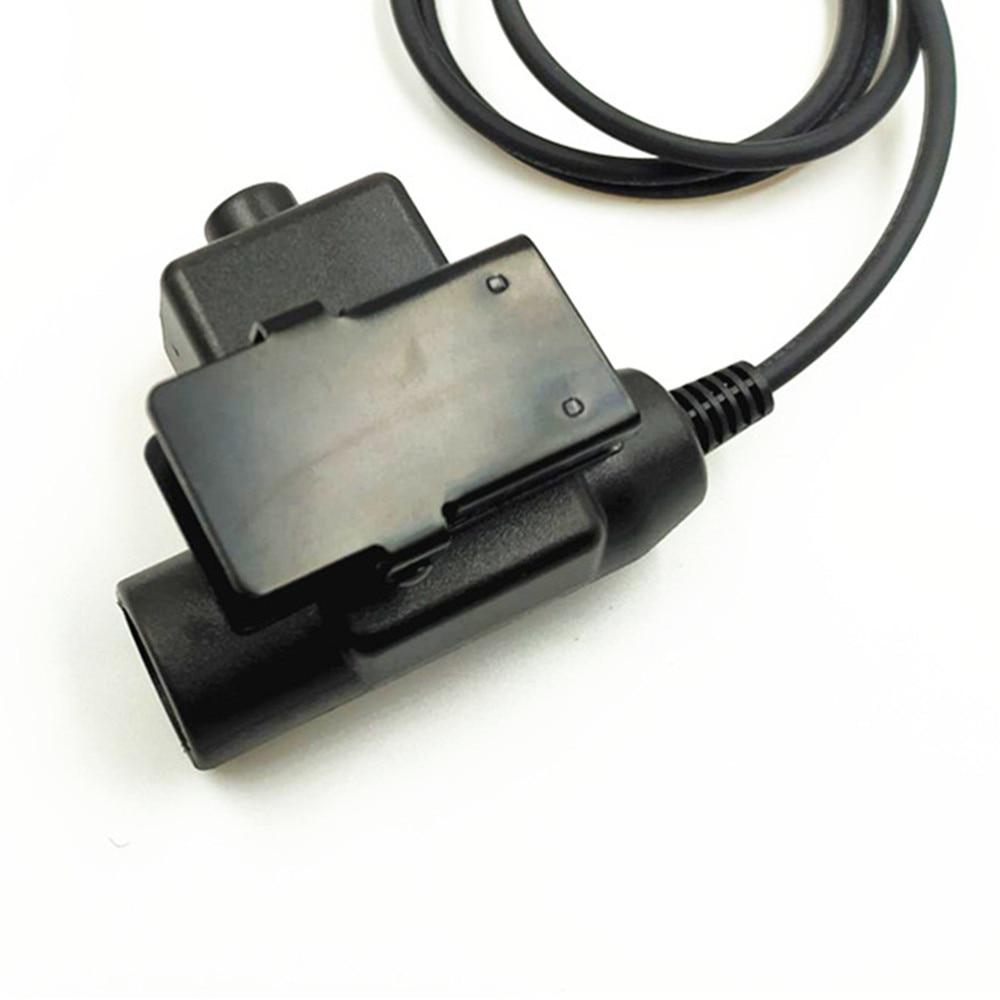 Walkie Talkie Microphone Heavy Duty U94 PTT Neck Throat Mic Earpiece Radio Tactical Headset for Baofeng  UV-9R BF-9700 BF-A58