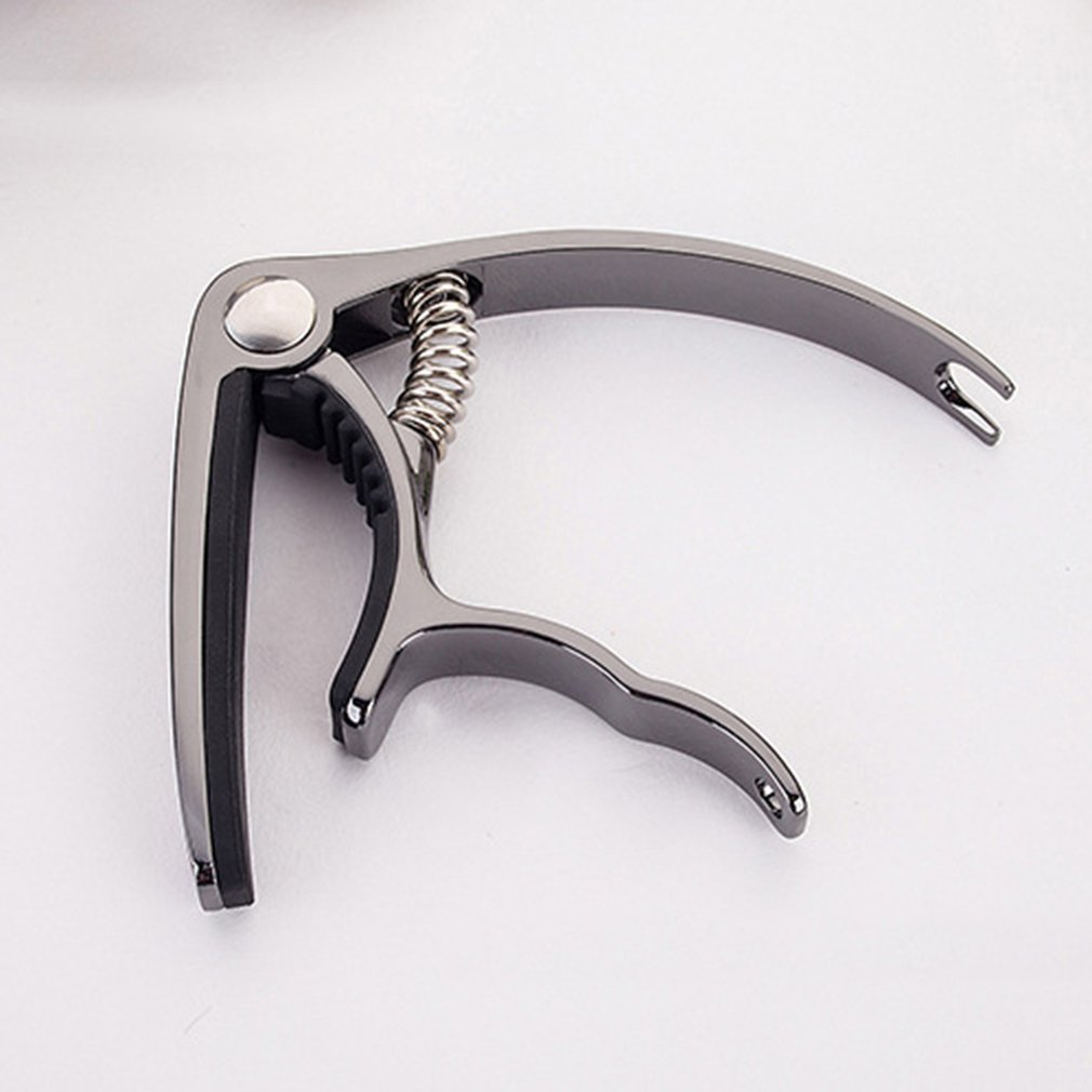 Accessories Aluminum Alloy Guitar Tuner Clamp Professional Key Trigger Capo For Acoustic Electric Musical Instruments
