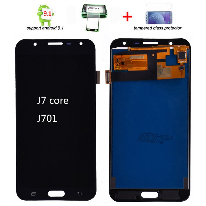 J701 LCD Display For Samsung Galaxy J7 Nxt J701F J701M J701 J7 Neo J7 Core Lcd Display Screen And Touch Digitizer Assembly