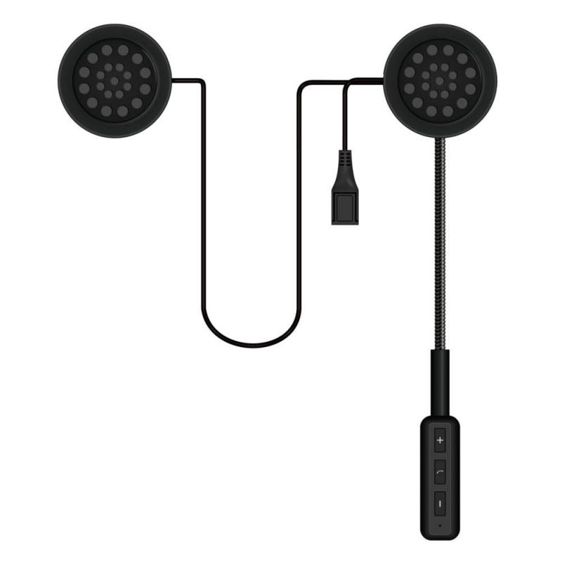 New Motor Wireless Bluetooth Headset Motorcycle Helmet Bluetooth 4.1 Earphone Headphone Speaker Handsfree Music For Smartphone