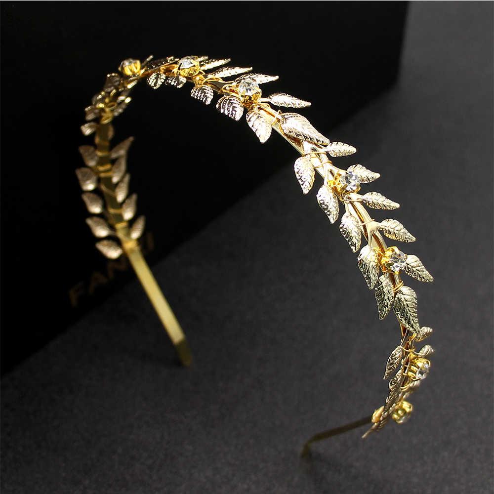 3 вида конструкций, модная свадебная тиара из сплава для невесты в греческом стиле, женские Украшения для волос, свадебные украшения для невесты, аксессуары для волос