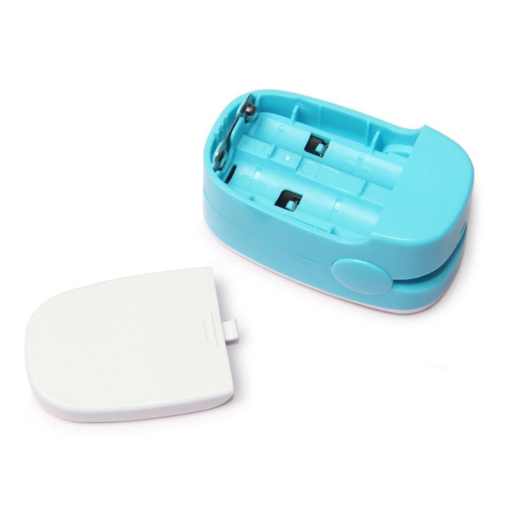 10 шт. CMS50M1 пальцевой пульсоксиметр с кончиком пальца с футляром оксиметр de pulso de dedo светодиодный Пульсоксиметр Сатуратор пульсиоксиметр - 2
