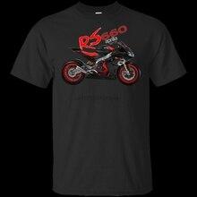 Aprilia Rs 660 Noale nueva camiseta Vintage de carreras de coches hombres negro S 5Xl