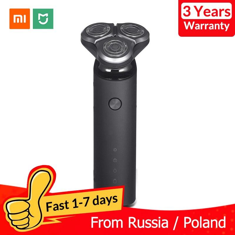 Xiaomi Mijia rasoir électrique pour hommes Rechargeable Flex rasoir sec humide Machine à raser tondeuse à barbe IPX7 lavable double lame