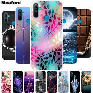 For Oppo Realme C3 Case Shockproof Soft silicone TPU Back Cover For Oppo Realme C3 Phone Cases Realme C3 Case 6.5