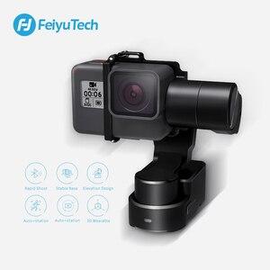 Image 4 - FeiyuTech WG2X Action Camera Stabilizer Wearable Mountable Gimbal Tripod for GoPro Hero 8 7 6 5 Sony RX0 Yi 4k Splash proof