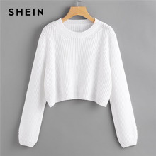 Long Sleeve Casual Sweaters crop P27