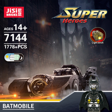 Car-Building-Blocks Chariot Ultimate-Batmobile Batman 76139 7144 Christmas-Gift Super-Heroes-Toys
