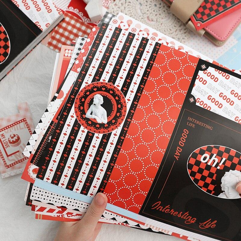 20 feuilles balle journalisation bricolage décoratif créatif Notes autocollantes mémo cahier papeterie Post Note papier bureau fournitures scolaires