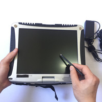 For Panasonic CF19 4GB Memory Laptop CF 19 CPU U7500 Toughbook No HDD Anti Corrosion Military PC can work for Alldata/SD C4/C5