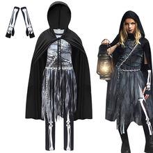 Забавный костюм Чумного доктора в средневековом стимпанк Детский