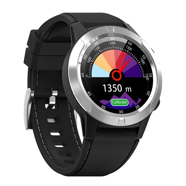 Północnej krawędzi Smartwatch GPS telefon z Bluetooth Smartwatch z funkcją dzwonienia mężczyźni kobiety IP67 wodoodporna tętno Monitor ciśnienia krwi zegar