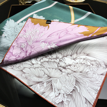 Thicken 100% Twill Silk Scarf Wraps Shawl Foulard Luxury Dou