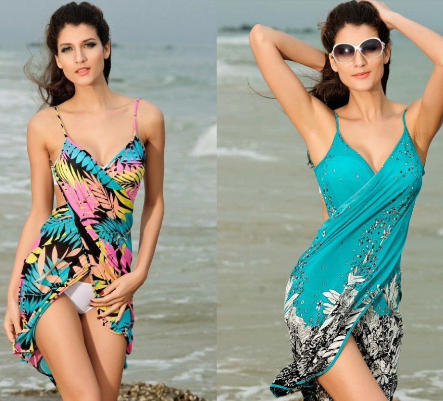 WOMEN'S Dress New Style Cross Camisole Backless Sexy Beach Skirt Sun Protection Clothing Blouse