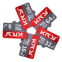 Original KRY tarjeta Micro SD de Clase 10 de 32GB Clase 10 tarjeta de memoria microSD de 128GB 64GB 16GB 8GB TF tarjeta cartao de memoria