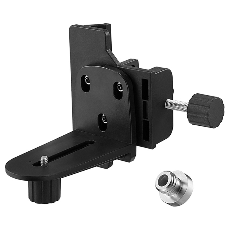 Levels Bracket 1/4 Or 5/8 Inch For Extension Rod And Adjustable Height For Universal Level