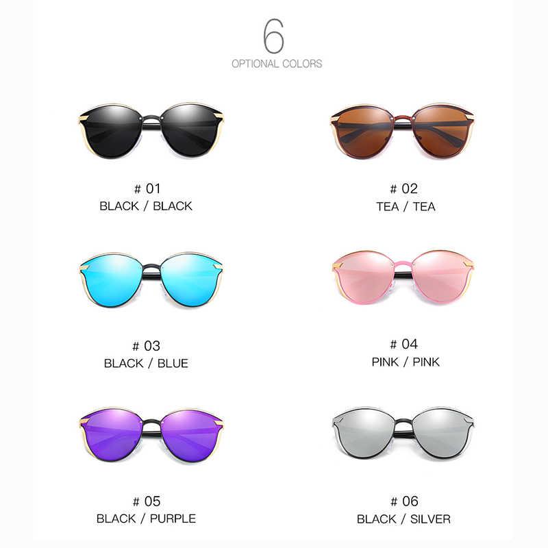 SAOIOASผู้หญิงแว่นกันแดดแฟชั่นรอบสุภาพสตรีวินเทจRetroยี่ห้อDesignerดวงอาทิตย์แว่นตาoculos gafas
