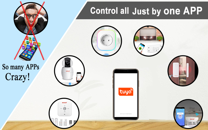 Control by one App