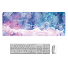 Fashion Marble Design Keyboard Mat Desk Mat Durable Desktop Mousepad Rubber Gaming Large Size Mouse Pad For Office Computer