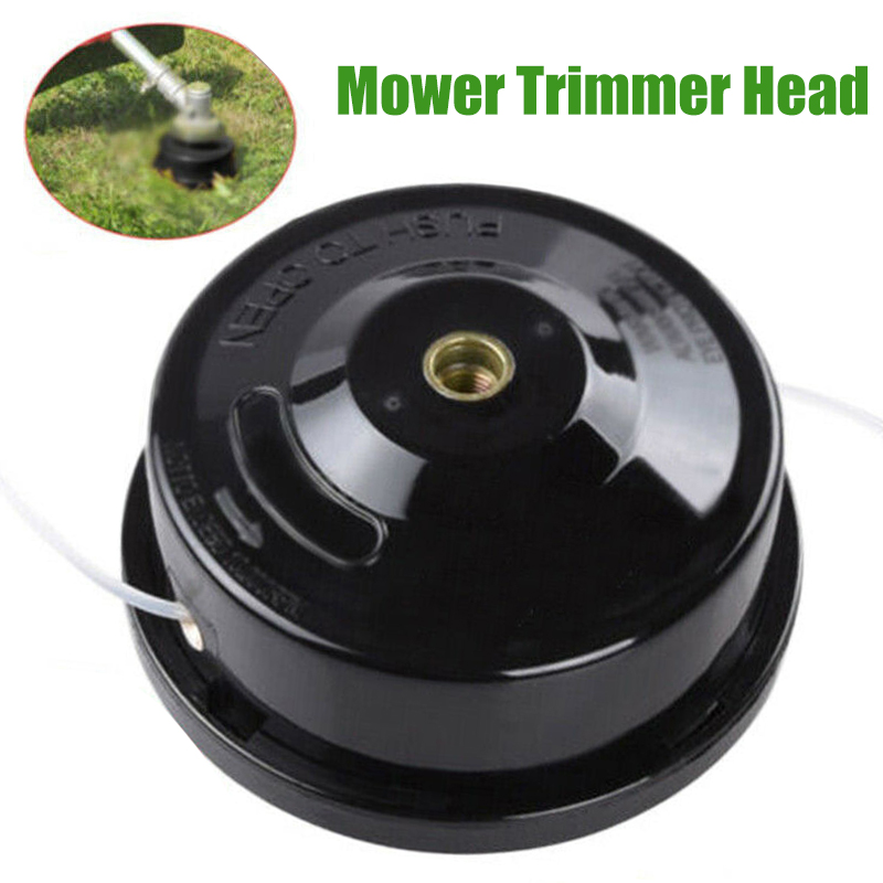 Universal Nylon Brush Mower Grass Trimmer Cutter Bump Spool Head Thread Line String Saw Grass Brush Mower Garden Tool