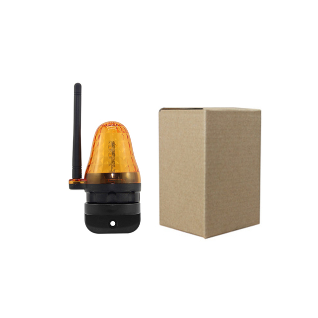 AC/DC 12V -265V LED lampa alarmowa bezpieczeństwa 24v migająca lampa alarmowa sygnał światło stroboskopowe 220v dla otwieracz bramy/brama barierowa