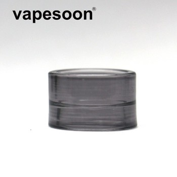 Rainbow / Colorful Glass Replacement Drip Tip Vape Mouthpiece for SMOK TFV16 Tank Atomizer image