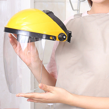 цена 1pc Transparent Plastic Safety Faces Shields Screen Spare Visors For Head Mask Eye Faces Protection онлайн в 2017 году