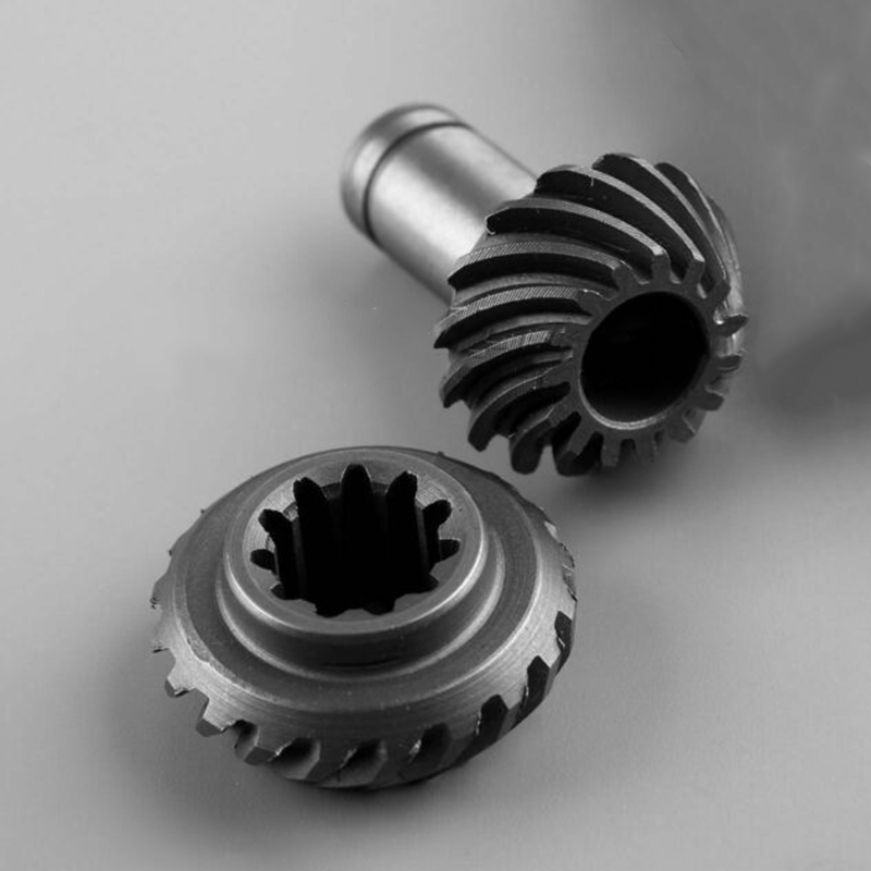 1 Set Gear Gear Assembly For Grass Rice Machine,brush Cutters,mowers,trimmers Power Tool Replacement Part