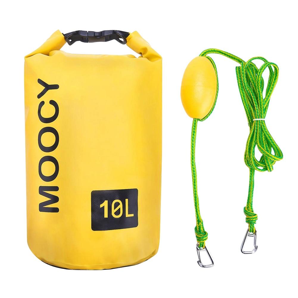 5L 10L Waterproof Water Resistant Dry Bag Sack Storage Pack 2in1 Swimming Outdoor Kayaking Canoeing River Trekking Boating Raft