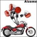 1 комплект  передний и задний светильник указателя поворота мотоцикла для Honda Shadow 400 750 VT750 2004-2007 Emark  указатели поворота  мигающие огни