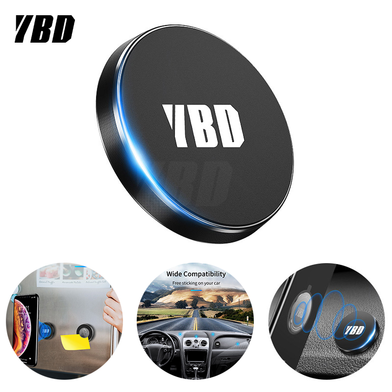 YBD Universal Magnetic Stand For Phone Samsung Xiaomi Car Phone Holder Dashboard Magnet For Phone IPhone Huawei GPS Mount Holder