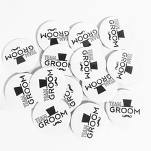 Team Groom Glasses Badge Bachelor Decortion-Supplies Night-Party-Decoration To Be Best