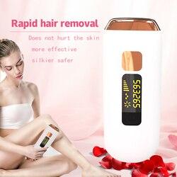 Mini Handheld Laser Epilator Depilador Facial Permanente Ontharing Apparaat Hele Lichaam Laser Hair Remover Machine 500000 Knippert