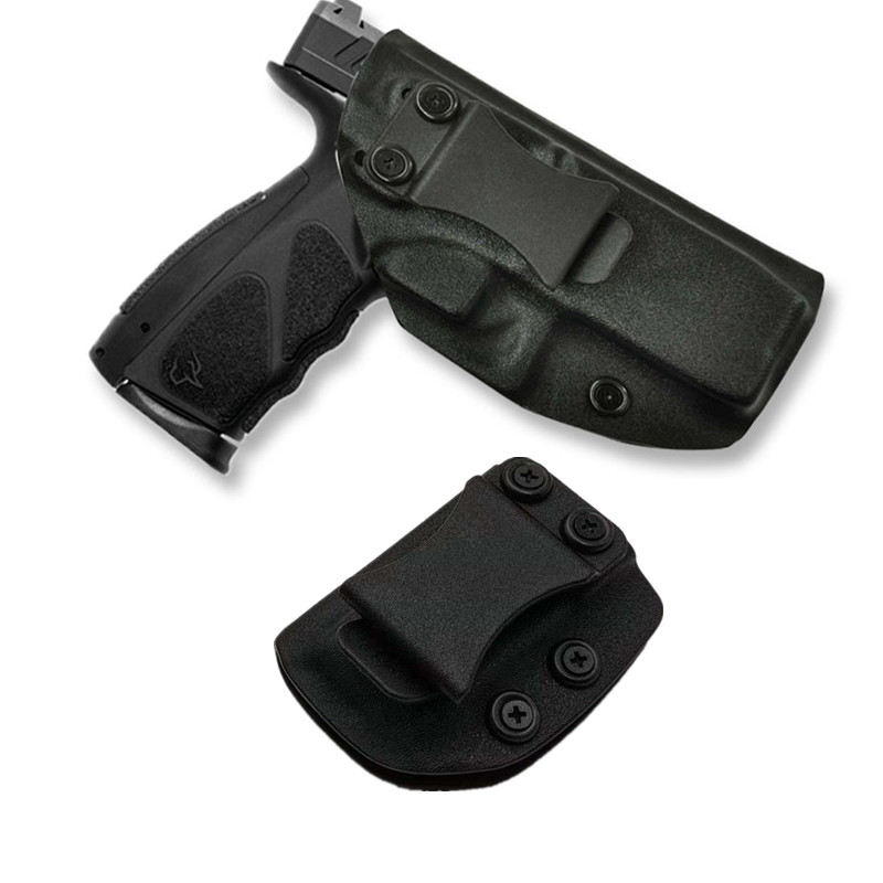 Dentro da cintura kydex iwb coldre revistas mag portadores suportes para taurus ts9 9mm calibre porta carregador escondido transportar