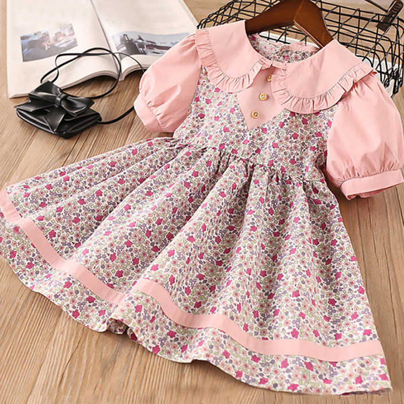 Sodawn 2020 Spring New Children Clohting Brand Neck Lace Bow