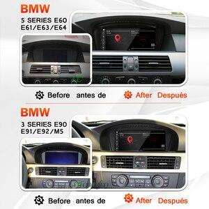Image 4 - Snapdragon Android 10 Car Radio GPS for BMW 5 Series E60 E61 E63 E64 E90 E91 car audio Navigation autoradio stereo no 2 din 2din
