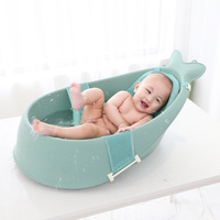 Baby bath tub newborn bath tub children's large bath bucket can sit lie bath tub supplies