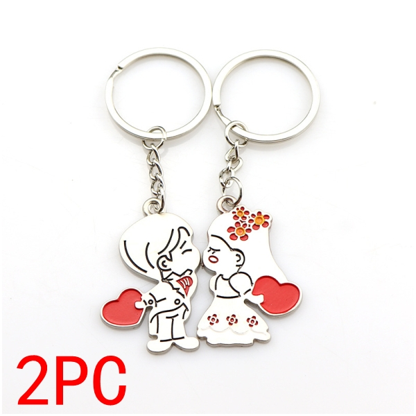 Wedding Guest Gift girlfriend boyfriend Souvenirs birthday Party Fashion Lovers for Key Ring valentine Bridesmaid Small present 9