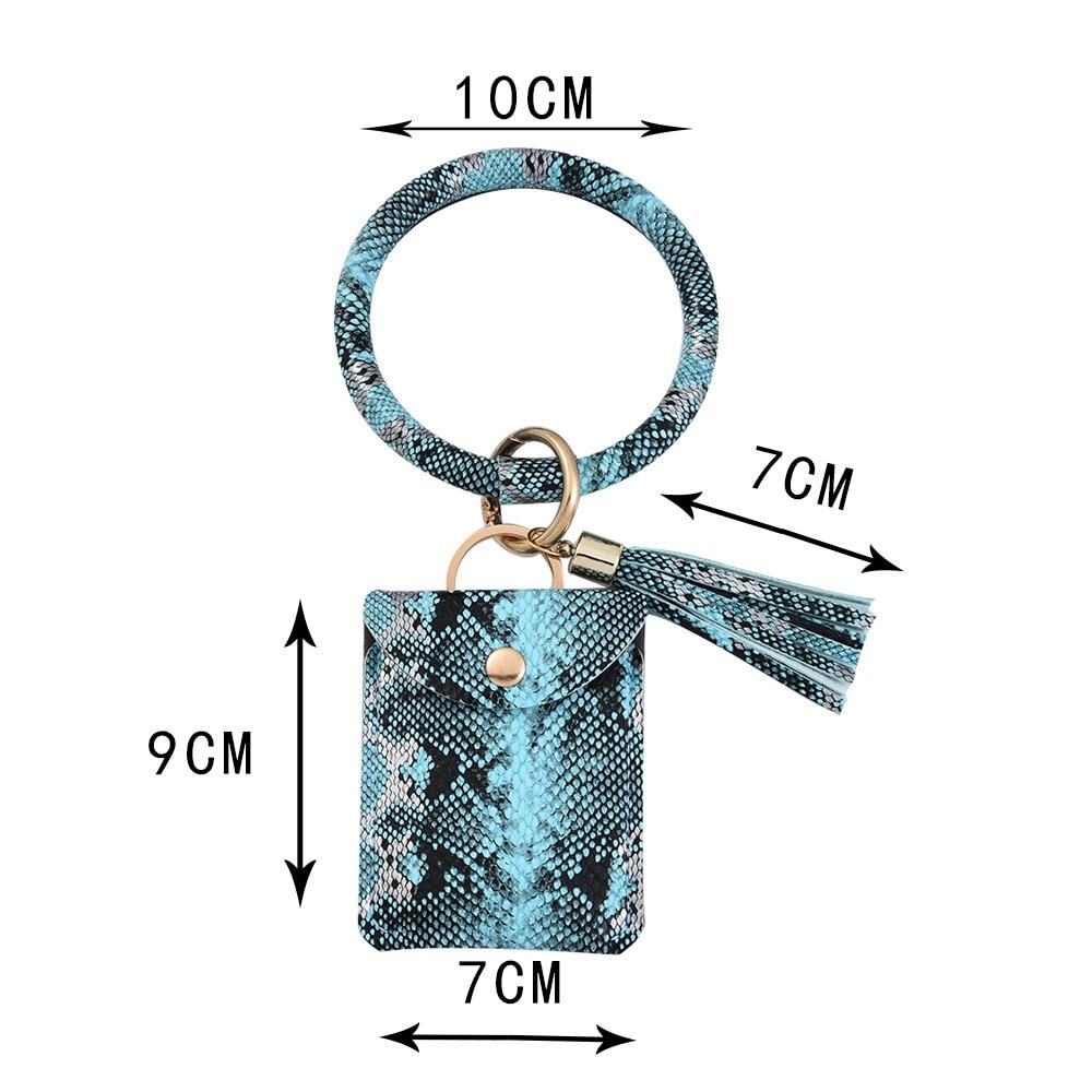 Модный Змеиный браслет брелок искусственная кожа цепочка для