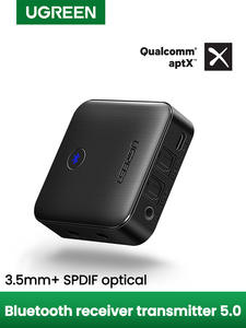 UGREEN Transmitter-Receiver Audio-Adapter Optical-Toslink Aptx Hd Wireless 2-In-1 Bluetooth