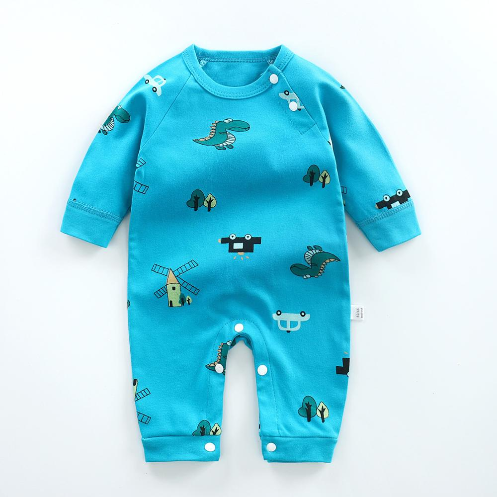 2019 Autumn Baby Clothes Newborn Baby Rompers Long Sleeve Baby Boy Girl Clothes Cotton Baby Jumpsuit Roupa De Bebes