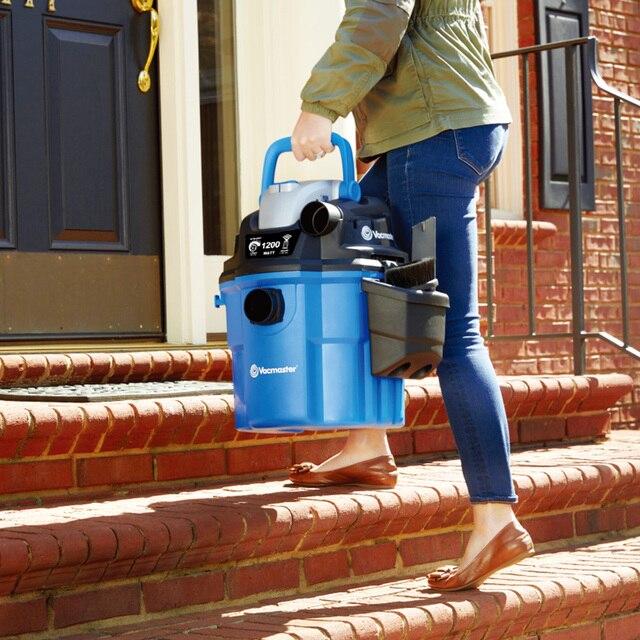 Фото пылесос vacmaster настенный 18 л 3 в 1 для сухой и влажной уборки цена