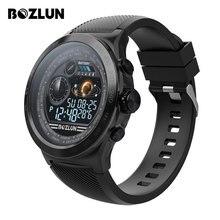 Bozlun Astuto Della Vigilanza Degli Uomini di IP68 Impermeabile Activity Tracker Smartwatch Bluetooth Chiamata di Promemoria Frequenza Cardiaca Pedometro di Nuotata Watche W31s