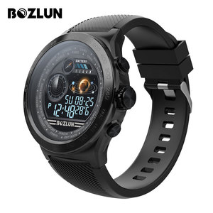 Image 1 - Bozlun スマートウォッチの男性 IP68 防水活動トラッカーの Bluetooth スマートウォッチ通話リマインダー心拍数歩数計水泳 Watche W31s